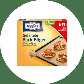 Gefaltete Backbögen von Toppits®