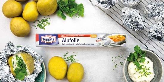 Toppits® Alufolie