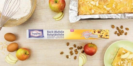 Toppits® Back-Alufolie
