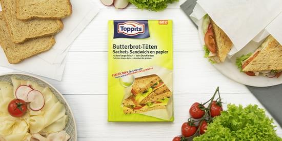 Toppits® Butterbrot-Tüten