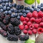 Verschiedene frische Beeren