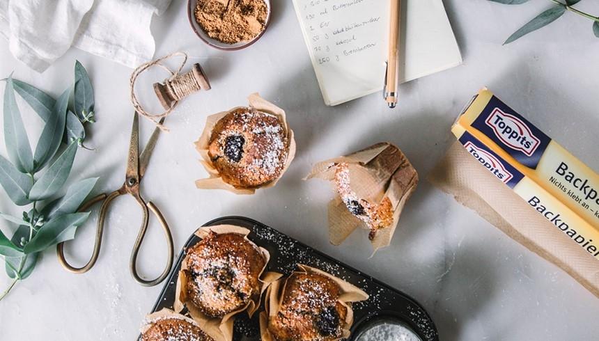 Wie du Muffinförmchen aus Toppits® Backpapier machen kannst