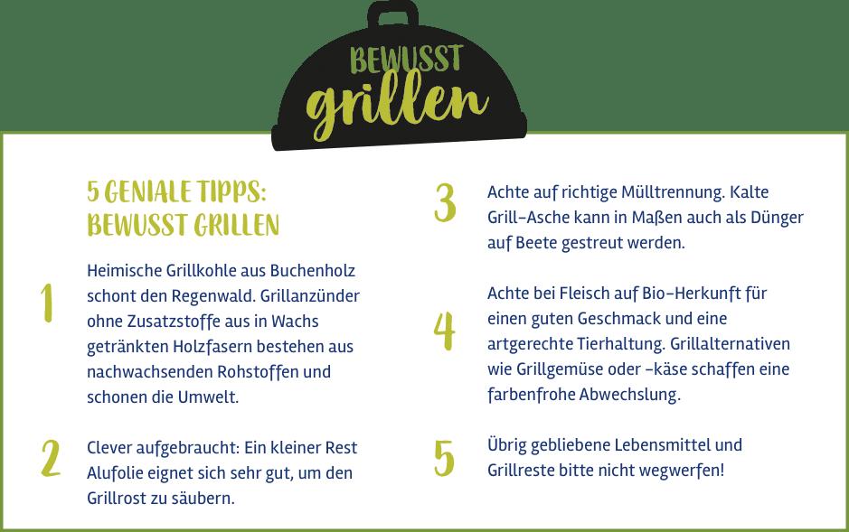 Bewusst Grillen 5 geniale Tipps zum Thema Grillen