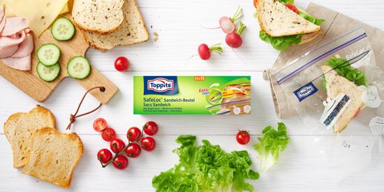 Toppits® SafeLoc® Sandwich-Beutel